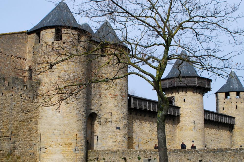 Frente del Château Comtal